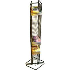 Atlantic Onyx CD Black Wire Rack 1248
