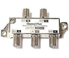 Channel Plus DC and IR Passing Splitter/Combiners 2514
