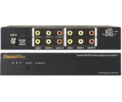 Channel Plus Triple-Channel RF Modulator 5435