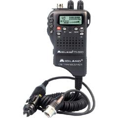 Midland 40-Channel                                     Hand-Held CB Radio 75-822