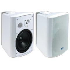 TIC 6 1/2 Inch 120 Watt Outdoor Patio Speakers ASP-120W