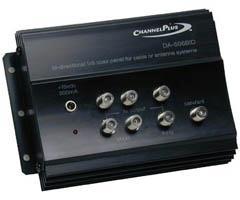 Channel Plus Bi-Directional RF Distribution Amplifier DA-506BID