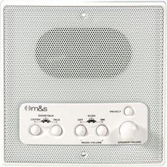 M & S Systems Weather-Resistant Remote Station Speaker DMC1RW
