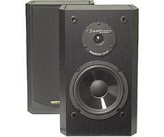 BIC America 6 Inch 2-Way Shielded 150-Watt Bookshelf Speakers DV-62SIB