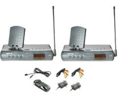 Terk LeapFrog Audio/Video Transmitter System with Remote Extender LF-30S