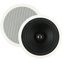 BIC America 8 Inch 125-Watt 2-Way Ceiling Speaker with Swivel Tweeters M-SR8