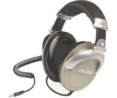 Koss Professional Closed Ear Studio Headphones with Coiled Cord PRO-4AAT