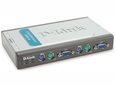 D-Link DKVM-4K KVM 4-PORT KB/VIDEO/MSE CABLES