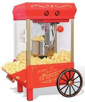 Nostalgia Electrics Movie Time Kettle Popcorn Maker - KPM-508