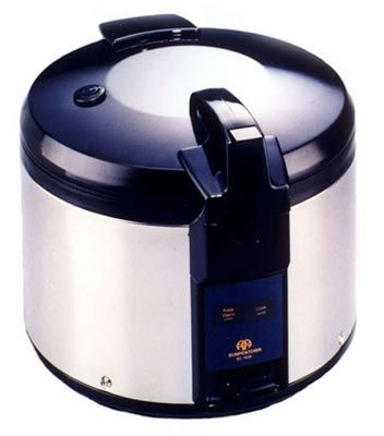 Sunpentown Jumbo 26 Cups Electric Rice Cooker and Warmer - SC-1626