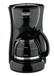 Delonghi Twenty Four Seven 4-Cup Drip Coffee Maker In Black - DC50B