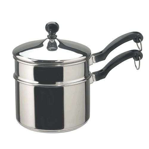 Farberware 50057 2 qt Covered Saucepan Double Boiler Insert with Stainless steel Material