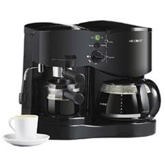 Mr. Coffee Steam Espresso Maker Automatic Drip Coffee Maker - ECM21