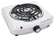 Proctor Silex 1000 Watt Single Fifth Burner- 34101