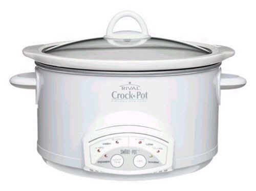 Appliance Smart - Rival 38501-W 5 Quart Round Smart-Pot Slow Cooker White