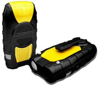 Hummer RD09 Compact Emergency Dynamo Radio Flashlight