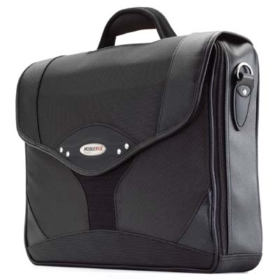 Mobile Edge MEBCS1 Select Briefcase Charcoal/Bk