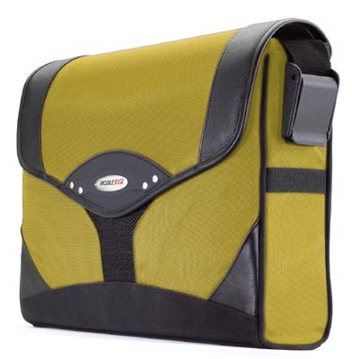 Mobile Edge MEMS04 Messenger Bag Yellow/Black