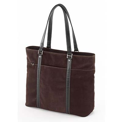 Mobile Edge METL08 Ultra Tote Chocolate Suede