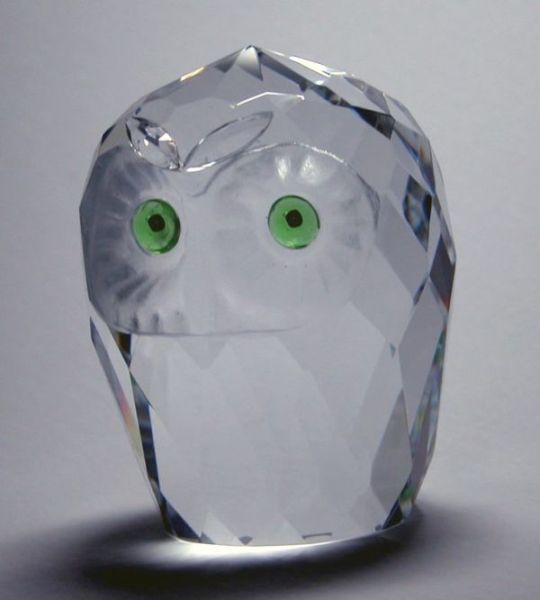 Crystal Florida Owl Head Giant 2 15-16 Inch - 19120