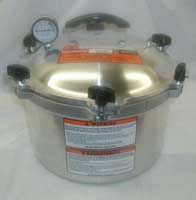 Cookers - ALL-AMERICAN 10.5 Quart Pressure Cooker Canner - 910