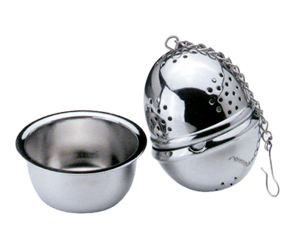 Cuisinox INF38 Tea Infuser Ball with Caddy