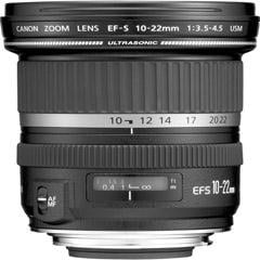 Canon EF-S 10-22mm f3.5-4.5 USM Ultra-Wide-Angle Zoom Lens 9518A002