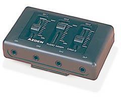 Azden On-Camcorder Mini Audio Mixer CAM-3
