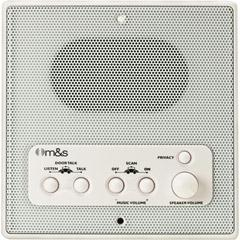 M & S Systems Retrofit 3-Wire Standard Remote Room Station for DMC3-4 with Remote Scan DMC3RS