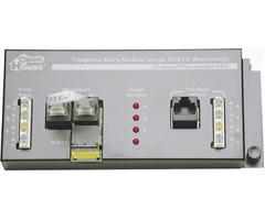 Open House 4-Line Telephone Master Hub with Surge Protection H611