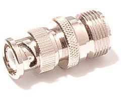 Cobra BNC to Standard Connector for Hand-Held CB Antennas HA-BNC