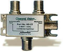 Channel Vision PCB Based Splitter/Combiner HS-2