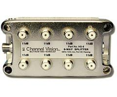 Channel Vision 8-Way  I/R Passive PCB Based Splitter/Combiner HS-8