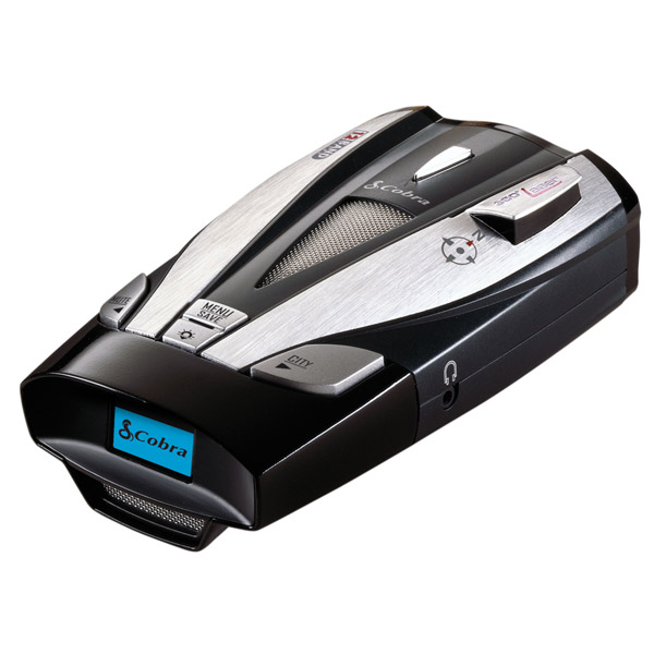 Electronic Compass - Cobra XRS-9830 12-Band Radar/Laser Detector With 8-Point Electronic Compass And DataGrafix Display