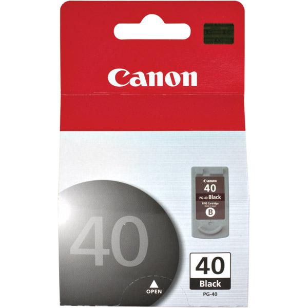 Canon FINE Ink Cartridge for Canon Photo Printers  Black PG-40