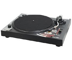 Pyle Professional Belt-Drive Manual Turntable PLTT-B1