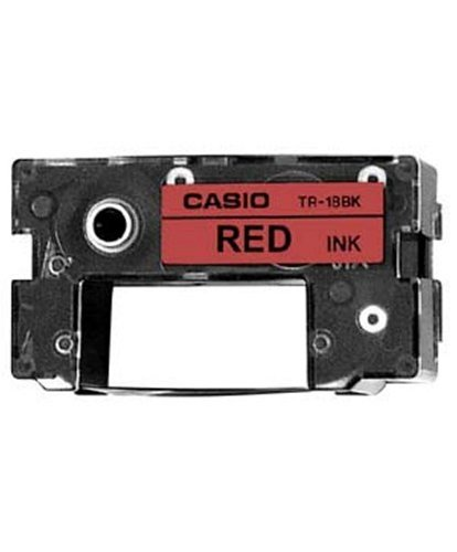 Casio Red ink CW-50 cartridge for CD-R Title Printer TR-18RD