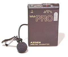 Image of Azden Pro Series Wireless Lavaliere Microphone and Transmitter WLT-PRO