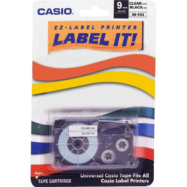 Casio Label Printer Tape for CWL-300 XR9-XS
