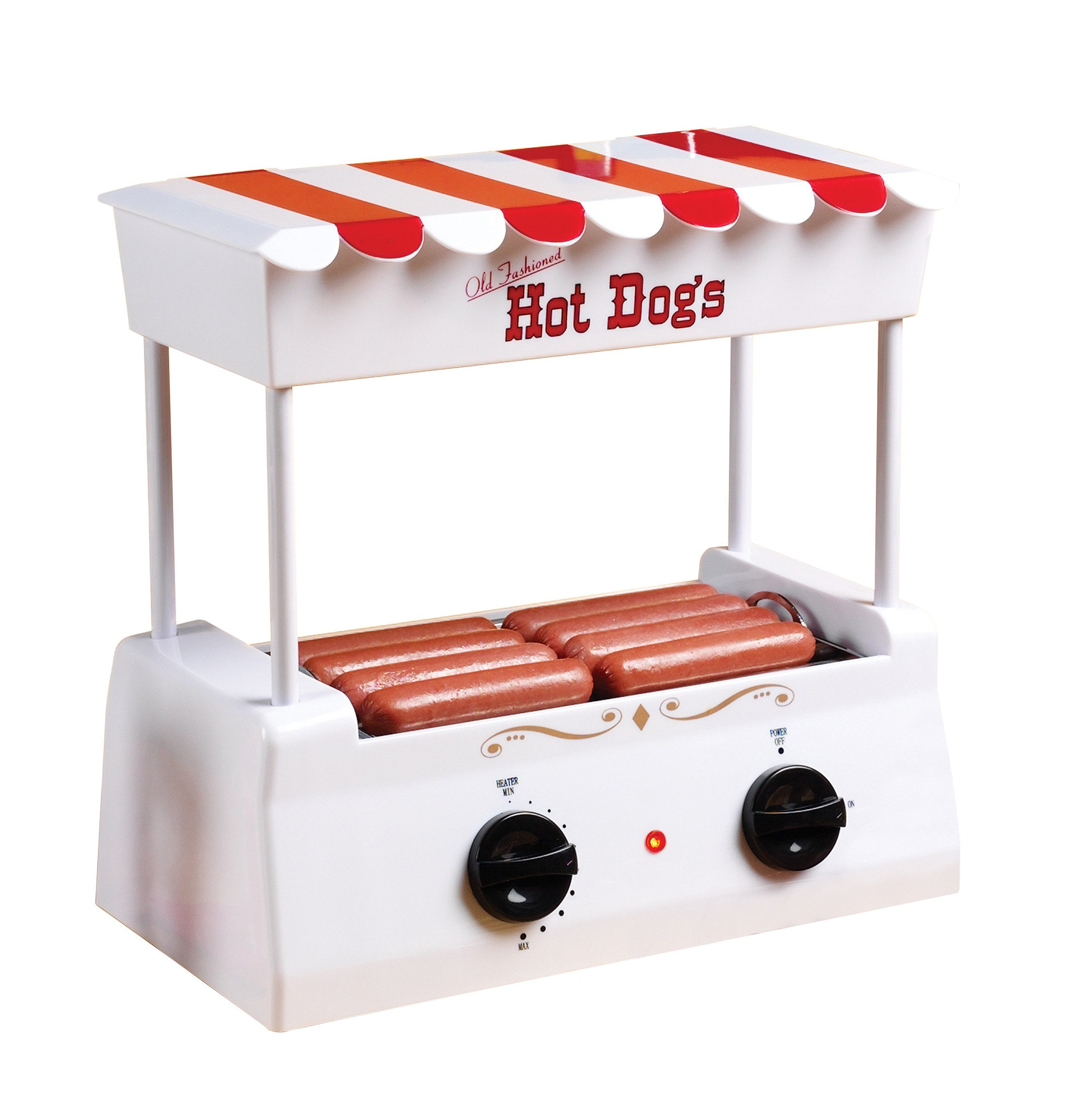Nostalgia Electrics HDR-565 Old Fashioned Hot Dog Roller Grill EMG252