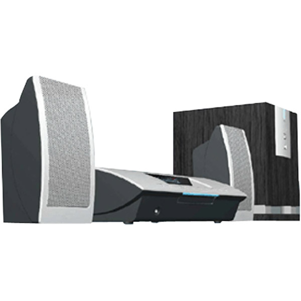 Sherwood Electronics - SHERWOOD VR670 HOLLYWOOD-AT-HOMETM VIRTUAL HOME THEATER SYSTEM WITH SUBWOOFER And SPEAKERS VR670