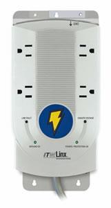 ITW Linx M4KSU SGII Premier Series 4-Outlet AC Surgegate