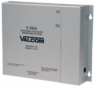 VALCOM VC-V-2904 Door Answer Device - 4Door w/ TDVC-V-2904