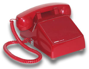 Viking Electronics VK-K-1900D-2 RED Hot line Desk Phone
