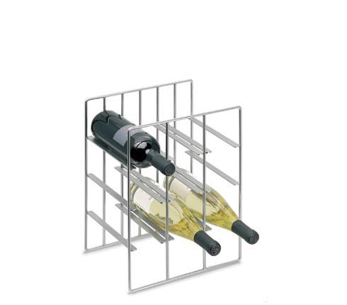 Blomus 68487 PILARE Wine bottle Storage for 9 bottles