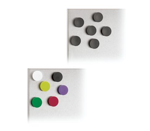 Blomus 66741 MURO Set of 6 Magnets Black 25 cm