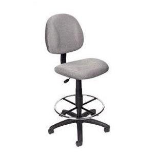 Boss B1615 Drafting Office Chair - Gray