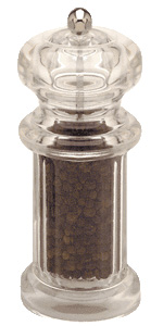 Chef Specialties 01751 5.5 Inch - 14cm CitationAcrylic Pepper Mill