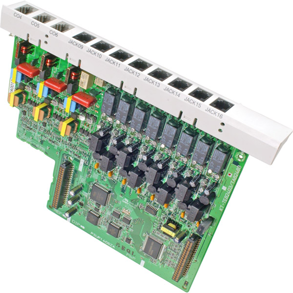 Panasonic KX-TA82483 3 X 8 Telephone System Expansion Card
