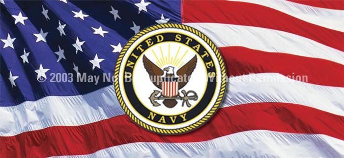 ClearVue Graphics Window Graphic - 30x65 U.S. Navy MIL-005-30-65